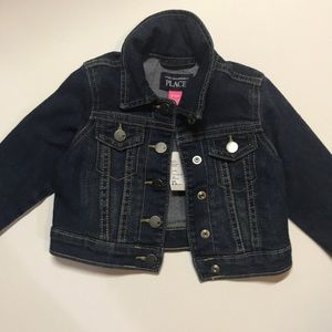 Denim Jean Jacket - Children's place -6-9M
